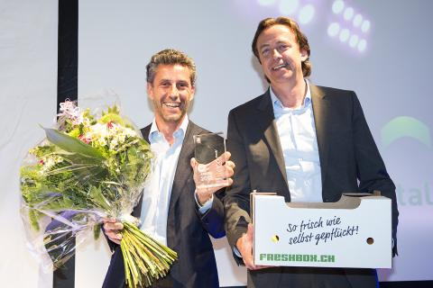 digitalSTROM gewinnt den eco2friendly Award 2013 | Bildquelle digitalSTROM AG.