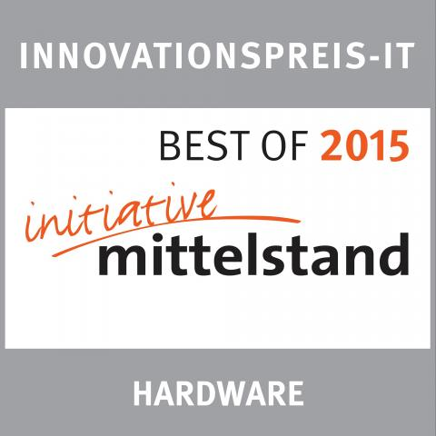 digitalSTROM ist Best of 2015 in der Kategorie Hardware beim INNOVATIONSPREIS IT Initiative Mittelstand